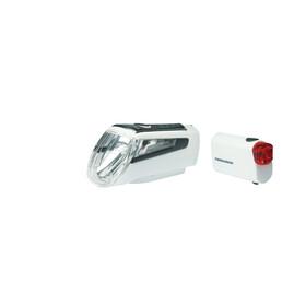 Trelock LS 560 I-GO CONTROL+LS 720 REEGO Bike Lights Sets white
